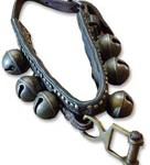 Dog collar with bells
