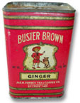 Buster Brown and Tige Ginger Spice Tin.