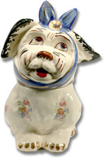 Mugsy the Dog cookie jar by Shawnee.