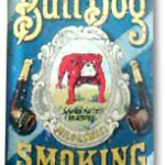BullDog Vertical Pocket smoking tobacco tin.