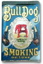 BullDog Vertical Pocket smoking tobacco tin.