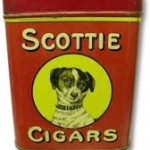 Scottie cigars tin