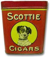 Scottie cigars tin